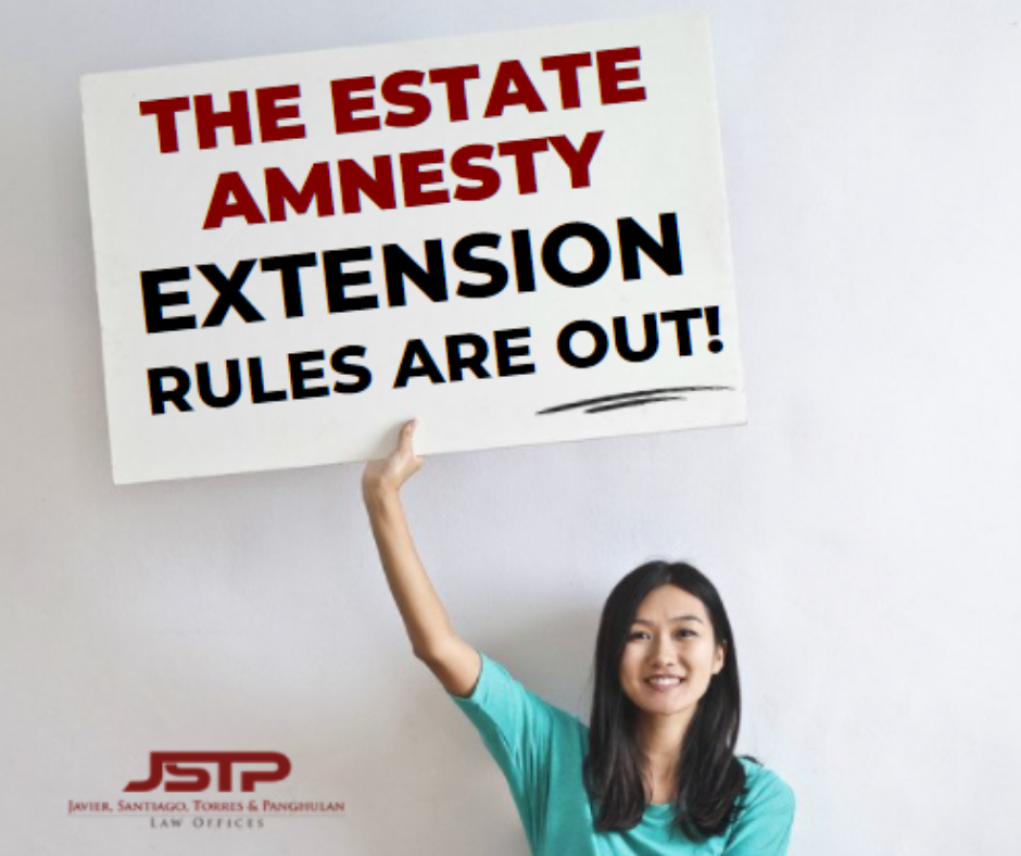 estate tax amnesty extension IRR